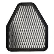 TOLCO Urinal Mat, 20.75 x 18.5, Black, 6/Carton (220206)