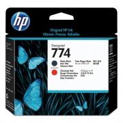 HP 774 (P2V97A) Chromatic Red, Matte Black Printhead