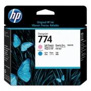 HP 774 (P2V98A) Cyan, Light Magenta Printhead