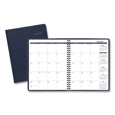 AT-A-GLANCE Monthly Planner, 8.75 x 7 Navy, 2021 (7012020)