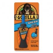Gorilla Glue Super Glue Micro Precise, 0.19 oz, Dries Clear, 4/Carton (102862CT)