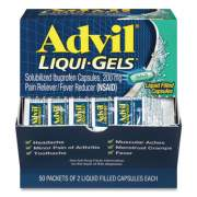 Advil Liqui-Gels, Two-Pack, 50 Packs/Box (BXAVLQG50BX)