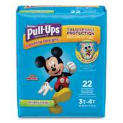 Huggies Pull-Ups Learning Designs Potty Training Pants for Boys, Size 3T-4T, 22/Pack (45141)