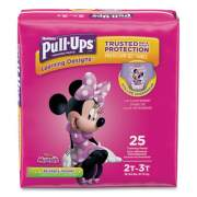 Huggies Pull-Ups Learning Designs Potty Training Pants for Girls, Size 2T-3T, 25/Pack (45132)