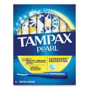 Tampax Pearl Tampons, Regular, 18/Box (285471)