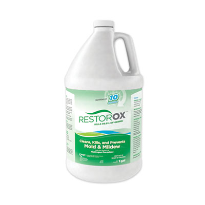 Diversey Restorox One Step Disinfectant Cleaner and Deodorizer, 1 gal Bottle, 4/Carton (20105)