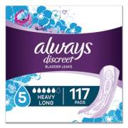 Always Discreet Sensitive Bladder Protection Pads, Heavy, Long, 39/Pack (92729PK)