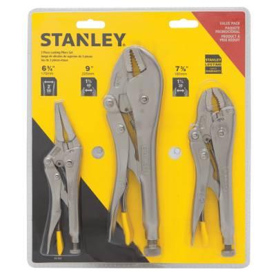 Stanley Stanley 3 pc Locking Plier Sets (94-960)