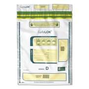 SafeLOK Series D Deposit Bags, 12 x 16, White, 100/Pack (24421989)