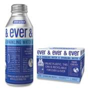 Ever & Ever Reverse Osmosis Sparkling Water, 16 oz Bottle, 12/Carton (24425592)
