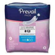 Prevail BLADDER CONTROL PADS, MODERATE ABSORBENCY, REGULAR, 180/CARTON (2699293)