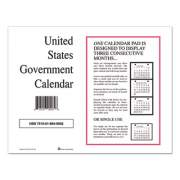 Unicor 7510016649503 Monthly Wall Calendar, 9 x 11, 2022, 10/Pack