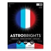 "Astrobrights Color Cardstock - ""Patriotic"" Assortment, 65 lb, 8.5 x 11, Assorted Patriotic Colors, 100/Pack (24396494)"