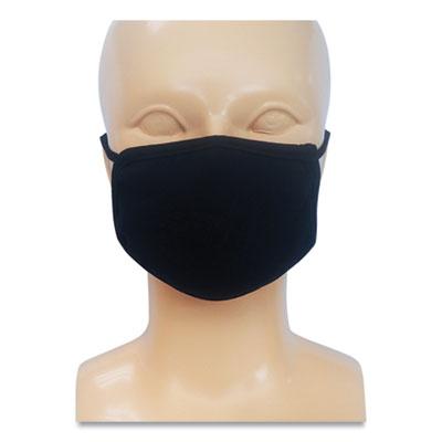 GN1 Kids Fabric Face Mask, Black, 500/Carton (PE17336)