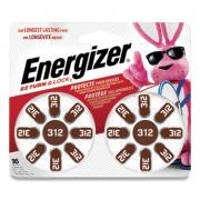 Energizer Hearing Aid Battery, Zero Mercury Coin Cell, 312, 1.4V (AZ312DP16)