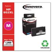 Innovera Remanufactured Magenta High-Yield Ink, Replacement for HP 952XL (L0S64AN), 1,600 Page-Yield
