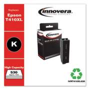 Innovera Remanufactured Black High-Yield Ink, Replacement for Epson T410XL (T410XL020), 530 Page-Yield