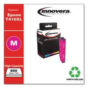 Innovera Remanufactured Magenta High-Yield Ink, Replacement for Epson T410XL (T410XL320), 650 Page-Yield