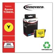 Innovera Remanufactured Yellow High-Yield Ink, Replacement for Epson T288XL (T288XL420), 450 Page-Yield