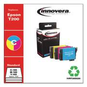 Innovera Remanufactured Cyan/Magenta/Yellow Ink, Replacement for Epson T200 (T200520), 165 Page-Yield