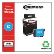Innovera Remanufactured Cyan High-Yield Ink, Replacement for Epson T288XL (T288XL220), 450 Page-Yield