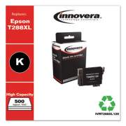 Innovera Remanufactured Black High-Yield Ink, Replacement for Epson T288XL (T288XL120), 500 Page-Yield