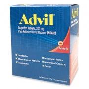 Advil BXAVL50 Ibuprofen Tablets