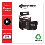Innovera Remanufactured Black High-Yield Ink, Replacement for Epson T220XL (T220120; T220XL120), 500 Page-Yield