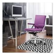 deflecto FashionMat Chair Mat, Rectangular, 35 x 40, Diamonds (CM3540BD)