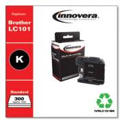Innovera Compatible Black Ink, Replacement for Brother LC101BK, 300 Page-Yield