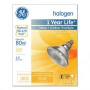 Energy-Efficient PAR38 Halogen Bulb, 90 W, Crisp White (62706)