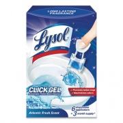 LYSOL Click Gel Automatic Toilet Bowl Cleaner, Ocean Fresh, 6/Box, 4 Boxes/Carton (89059CT)