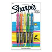 Sharpie Liquid Pen Style Highlighters, Chisel Tip, Assorted Colors, 5/Set (24575PP)