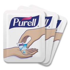 PURELL Single Use Advanced Gel Hand Sanitizer, 1.2 mL, Packet, Clear, 2,000/Carton (96302MNS)