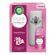 Air Wick Freshmatic Ultra Automatic Pure Starter Kit, 5.94 x 3.31 x 7.63, White, Tropical Flowers (88414KT)