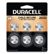 Duracell Lithium Coin Battery, 2032, 6/Pack (DL2032B6PK)