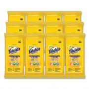 Fabuloso Multi Purpose Wipes, Lemon, 7 x 7, 24/Pack, 12 Packs/Carton (98719)