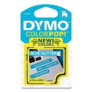 "DYMO COLORPOP! Label Maker Tape, 0.5"" x 10 ft, White on Blue (24403284)"
