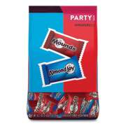 Hershey's Almond Joy and Mounds Chocolate Minature Size Party Pack, 32.1 oz Bag, Approximately 63 Pieces (24447402)