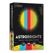 Astrobrights Color Cardstock, 65 lb, 8.5 x 11, Assorted Colors, 1,250/Pack (24447813)