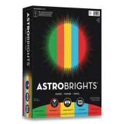 Astrobrights Color Paper, 24 lb, 8.5 x 11, Assorted Eco Colors, 500 Sheets/Ream (24447814)