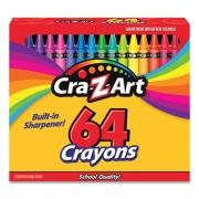 Cra-Z-Art Crayons, 64 Assorted Colors, 64/Pack (10202WM16)