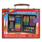 Cra-Z-Art WOODEN ART SET, 78 PIECES (111286)