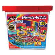 Cra-Z-Art ULTIMATE ART TUB, 130 PIECES (110822)