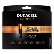 Duracell Optimum Alkaline AAA Batteries, 18/Pack (OPT2400B18PR)