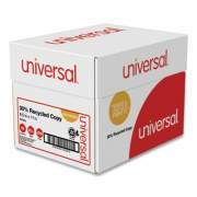 Universal 30% Recycled Copy Paper, 92 Bright, 20 lb, 8.5 x 11, White, 500 Sheets/Ream, 5 Reams/Carton (200305)