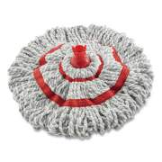 "Rubbermaid Microfiber Twist Mop Refill, 16"", White (2088705)"