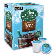 Green Mountain Coffee Roasters Roasters Roasters Classic Black Brew Over Ice Coffee K-Cups, 24/Box (9027)