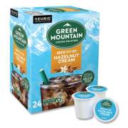 Green Mountain Coffee Roasters Roasters Roasters Hazelnut Cream Brew Over Ice Coffee K-Cups, 24/Box (9029)
