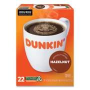 Dunkin Donuts K-Cup Pods, Hazelnut, 22/Box (1270)